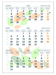 Kalender kujundus