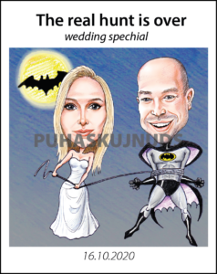 Karikatuur pulma